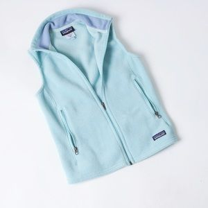 Patagonia Classic Synchilla Vest Teal Fleece
